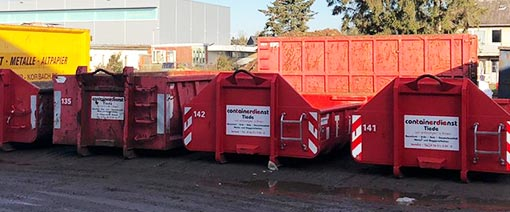 Abrollcontainer Tiede in Korbach