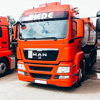 Tiede Containerdienst LKW Transporte